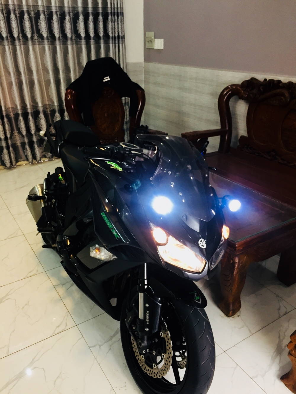 Z1000sx ABS 2015 Chau Au sport touring Full power KTRC 3mode BSTP zin keng vua lot keo trong - 10