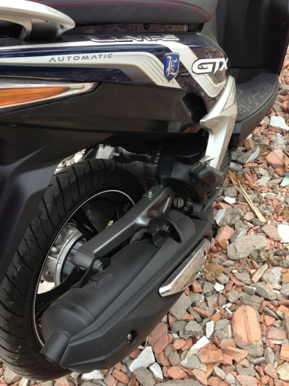 Ban Yamaha Luvias GTX ban dac biet Sport 2014 Xanh bac chinh chu su dung