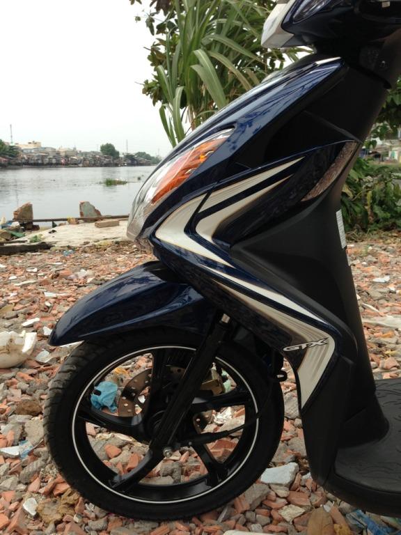 Ban Yamaha Luvias GTX ban dac biet Sport 2014 Xanh bac chinh chu su dung - 2