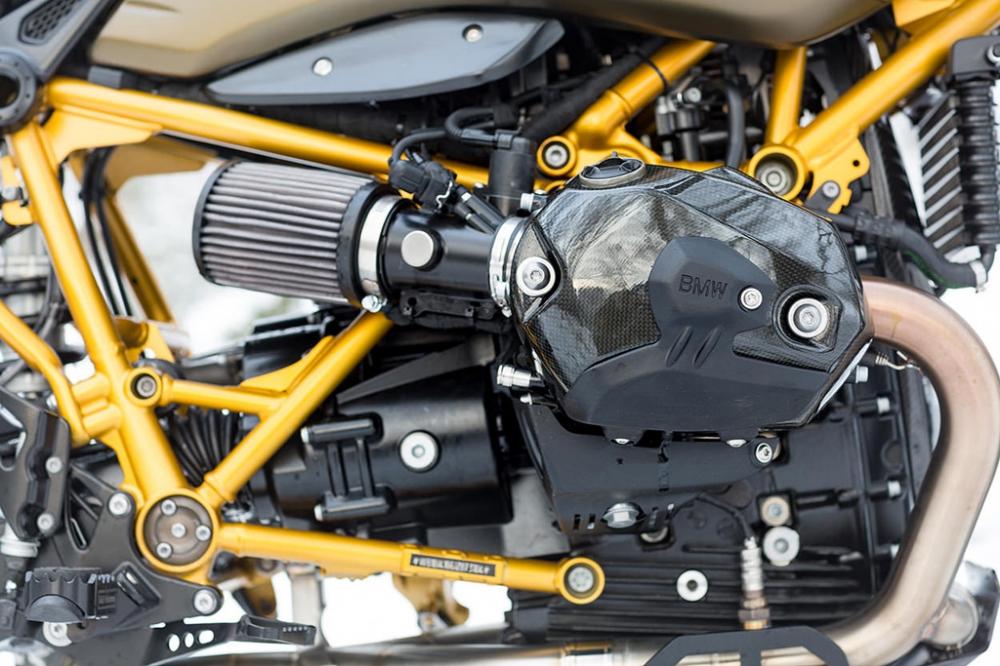 BMW RNINET URBAN GS ban do Gau tuyet den tu xuong do xe Unique Custom Cycles - 5