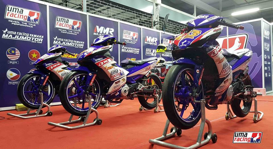 Can canh Exciter 150 su dung phuoc truoc Winner 150 trong ARRC 2018 - 2
