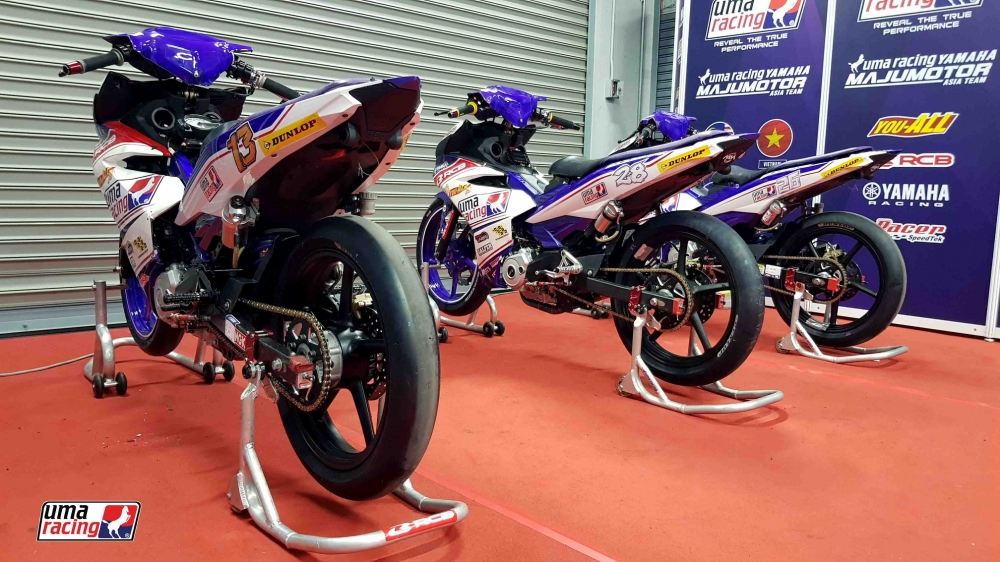 Can canh Exciter 150 su dung phuoc truoc Winner 150 trong ARRC 2018 - 4