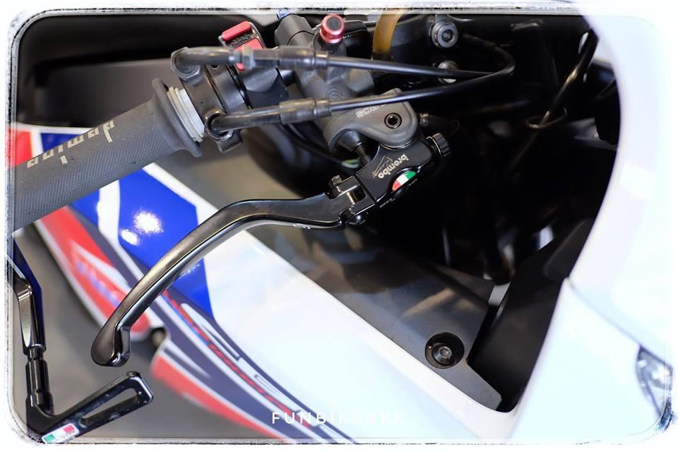 Honda CBR1000RR Fireblade HRC ve dep moto dua duong pho - 7