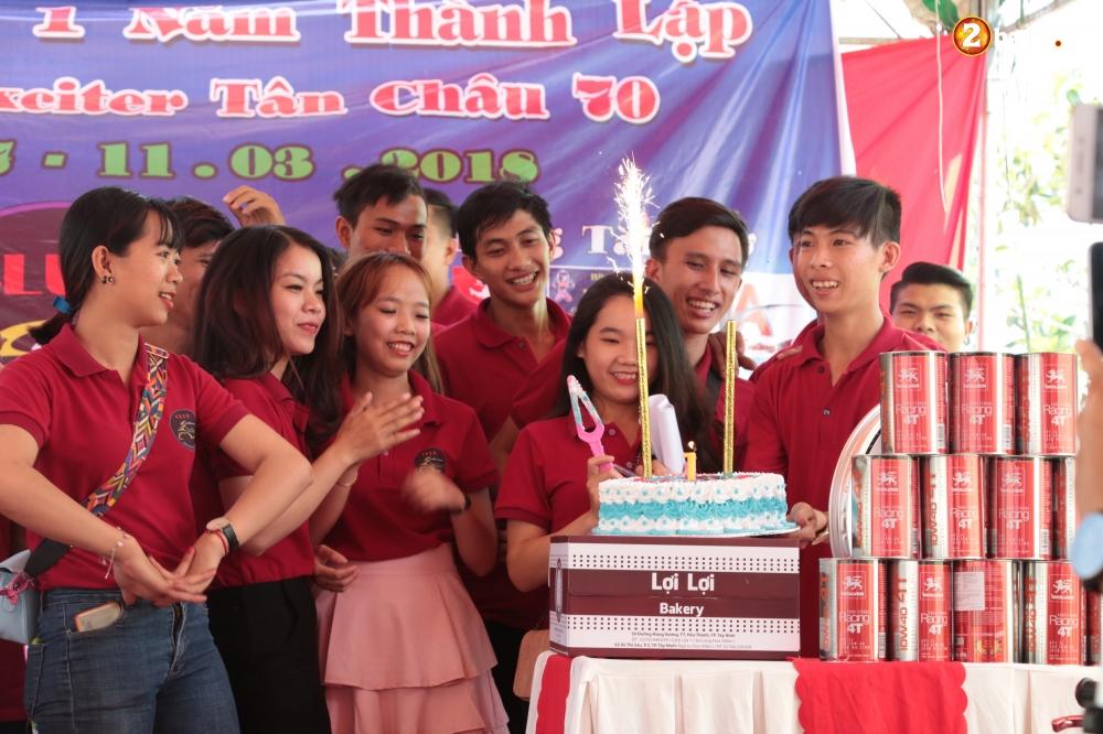 Club Exciter Tan Chau 70 mung sinh nhat lan I day hoanh trang - 16