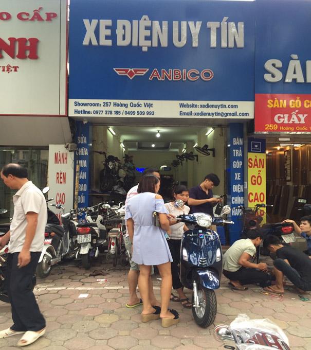 Cua hang ban xe dap dien o Ba Dinh Ha Noi - 2