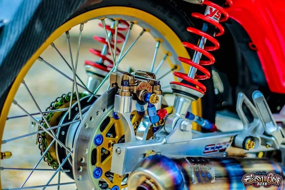Cub Fi do tuong khong dep ai ngo dep khong tuong cua biker Thailand