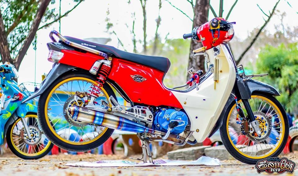 Cub Fi do tuong khong dep ai ngo dep khong tuong cua biker Thailand - 8