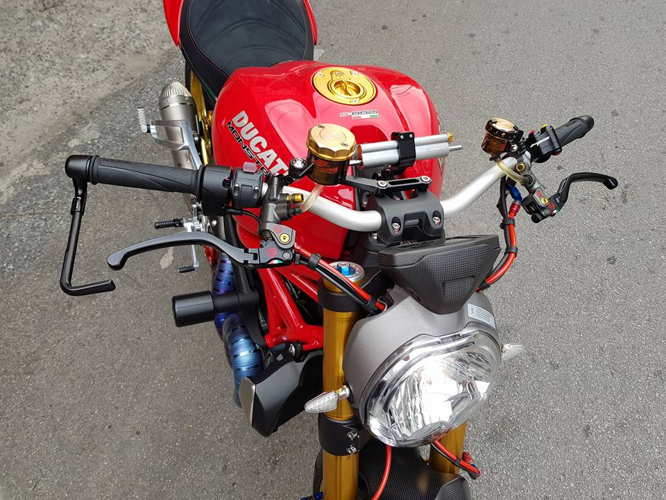 Ducati Monster quai thu cong nghe den tu Thai Lan - 3