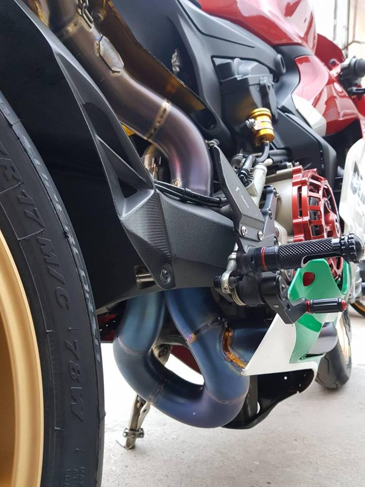 Ducati panigale 1199R ban do ba chay voi nong sung Austin racing Rs22 full inconel - 5