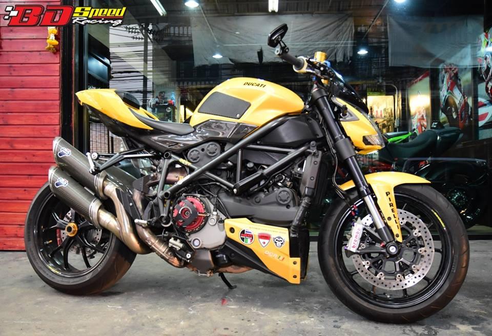 Ducati Streetfighter ga khong lo mang ten Ong bap cay - 3