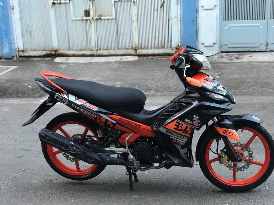 Exciter 135 do dam chat the thao voi mam Racing boy - 3