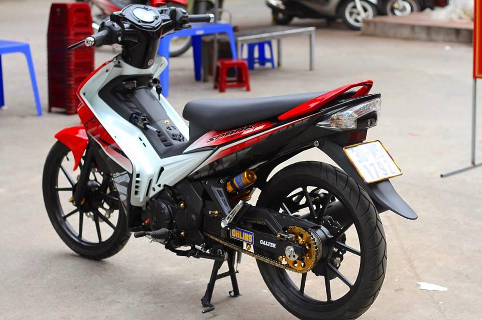Exciter 135 do full do choi chat cua Biker Ha Noi - 8