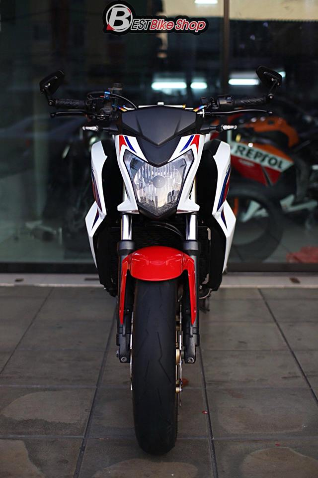 Honda CB650F ban nang cap voi nhieu phu kien an tuong - 3