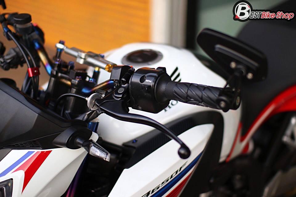 Honda CB650F ban nang cap voi nhieu phu kien an tuong - 5