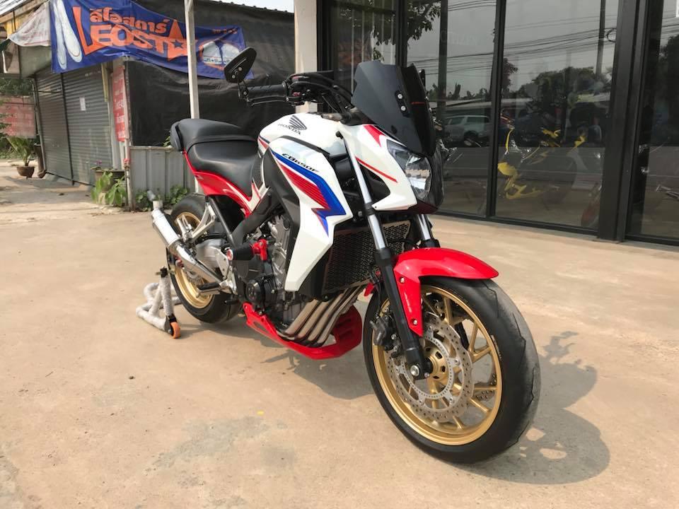 Honda CB650F ve dep phong tran tu mau Nakedbike tam trung - 3