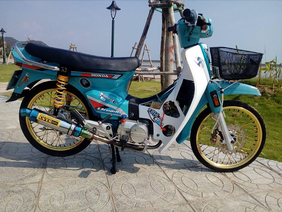 Honda Dream do lot xac manh me voi option do choi dang cap - 3