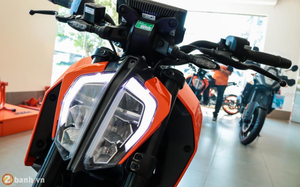KTM Duke 390 2018 chinh thuc ra mat voi gia ban khoang 175 trieu dong - 2