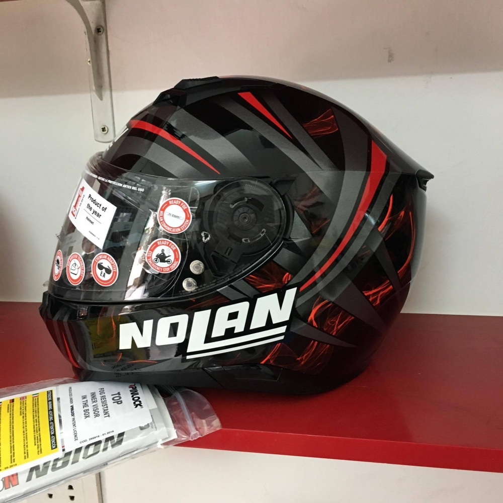 Nolan N87 LEDLIGHT NCOM den song do - 2