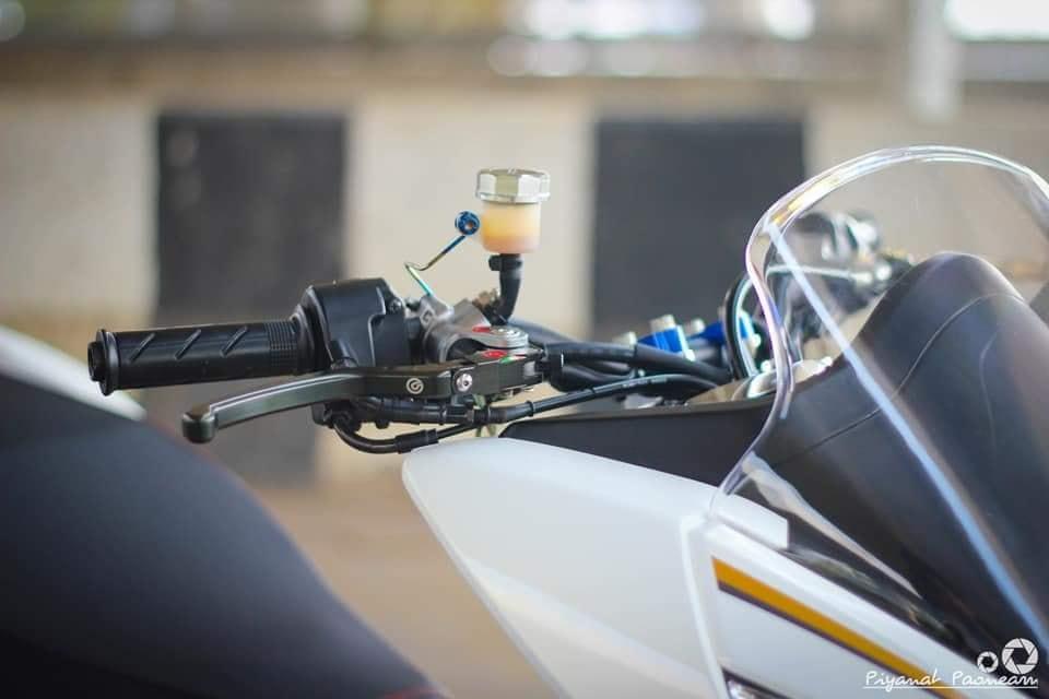 PCX 150 do Drag tao dang ben con duong cao toc cua biker Thailand - 5