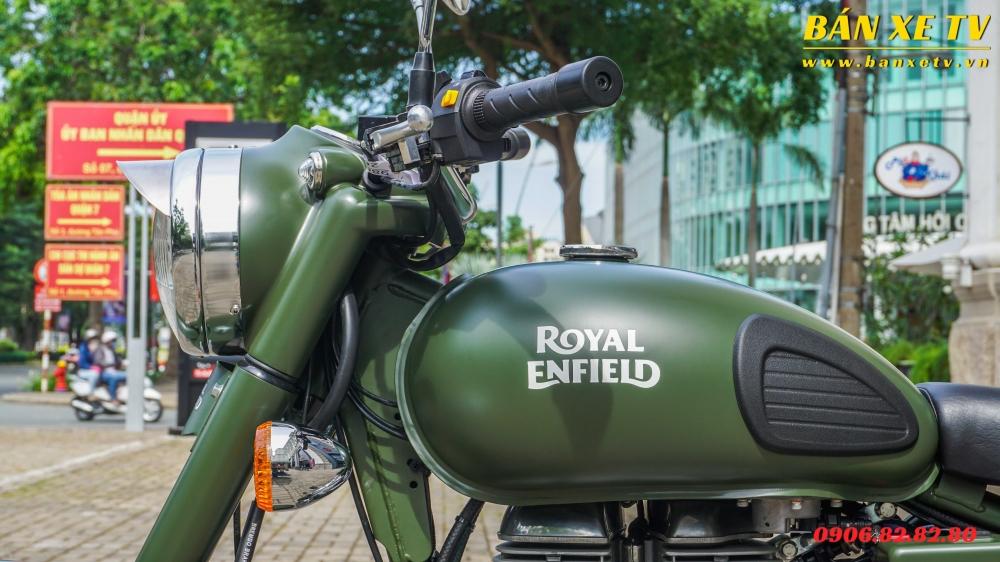 Royal Enfield Classic Battle Green chinh hang Hoang Minh Khoi LH 0906828280 - 4