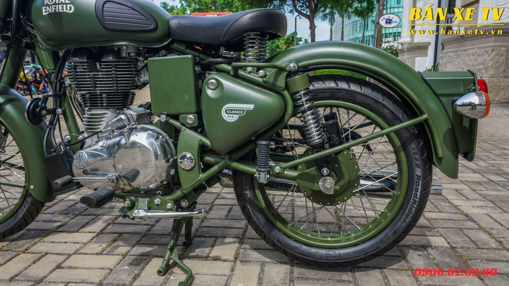 Royal Enfield Classic Battle Green chinh hang Hoang Minh Khoi LH 0906828280 - 6