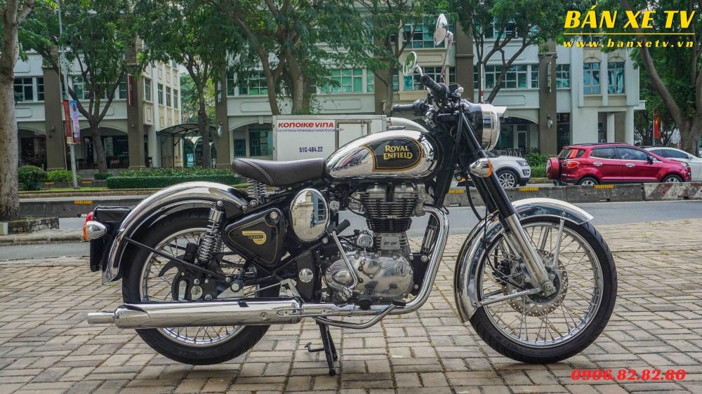 Royal Enfield Classic Chrome Black chinh hang Hoang Minh Khoi LH 0906828280 - 3