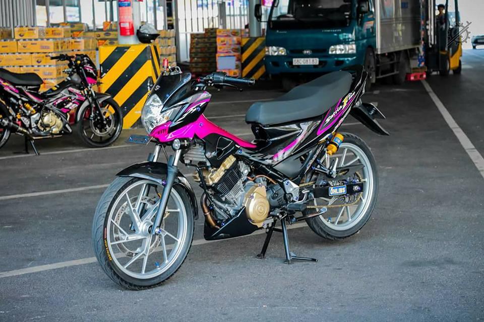 Satria F150 do an tuong voi loat nang cap bai ban - 3