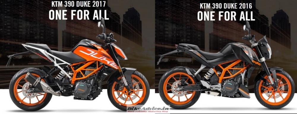 Tao bao voi y tuong do dau den Duke 250 2017 cho xe yeu Duke 390 2016 - 2