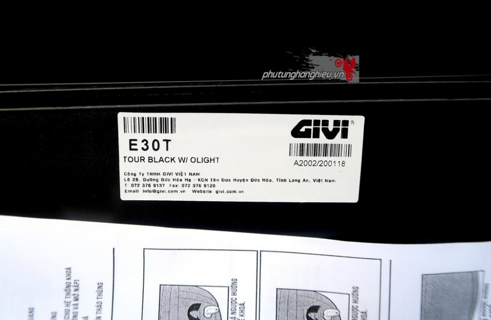 Thung xe may Givi E30T tien loi hop tui tien - 2