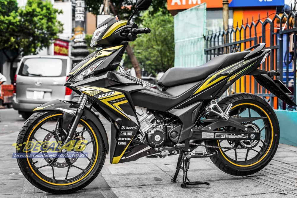 Tong hop tem xe Winner 150 thang 32018 do Decal46 thuc hien - 33
