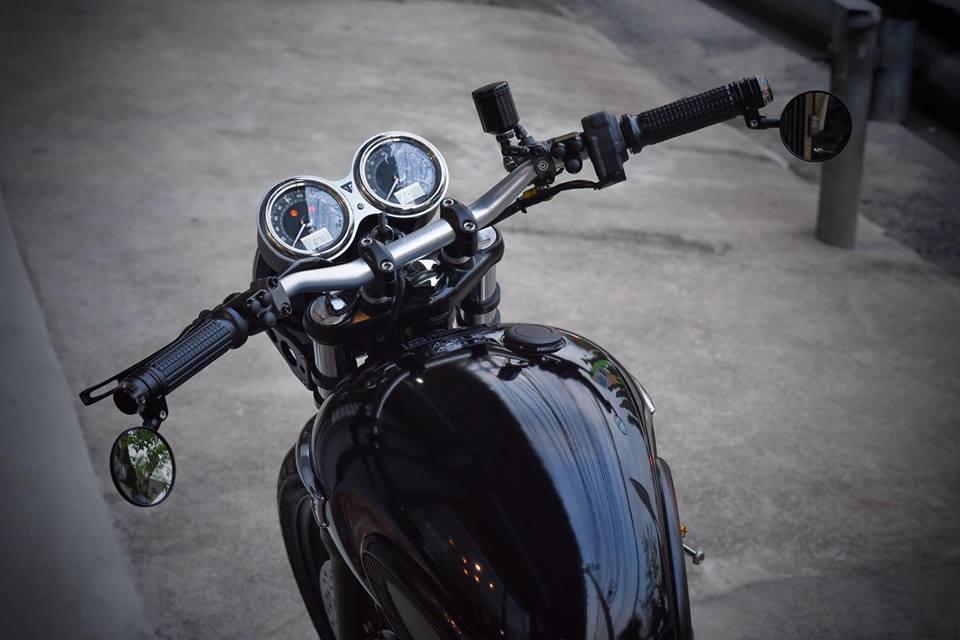 Triumph Bonneville T100 tinh hoa giua cong nghe tien tien va kieu dang hoai co - 3