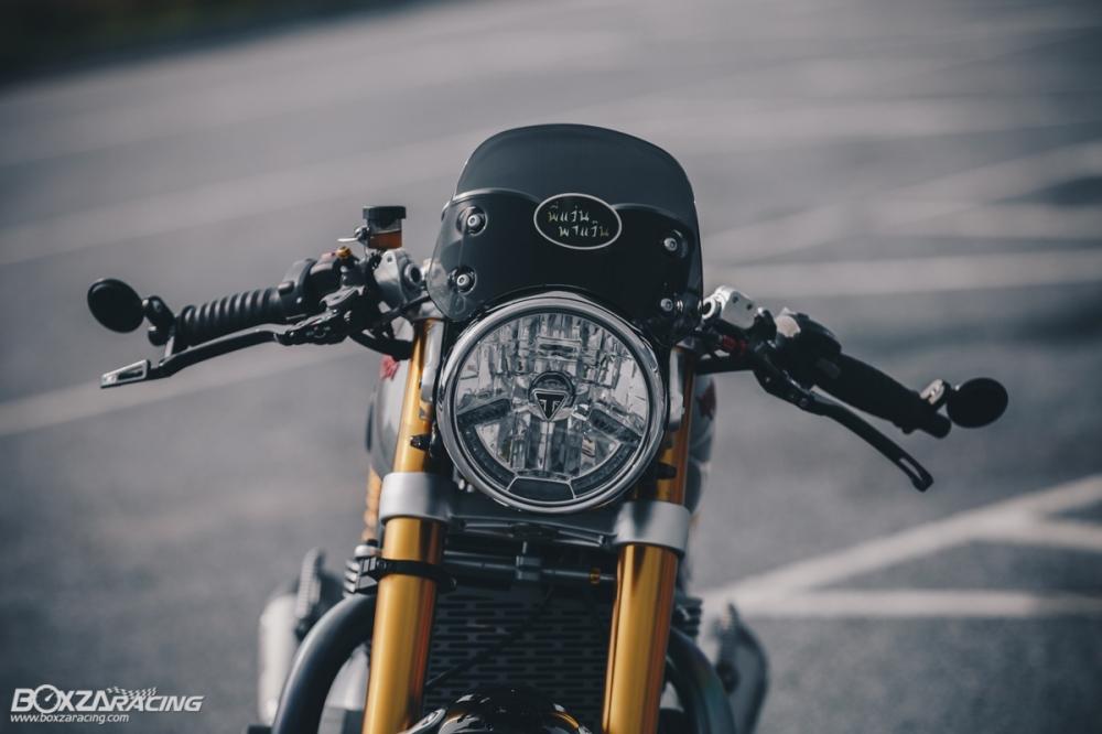 Triumph Thruxton R chan dung hoan hao tu Cafe Racer Legend - 4