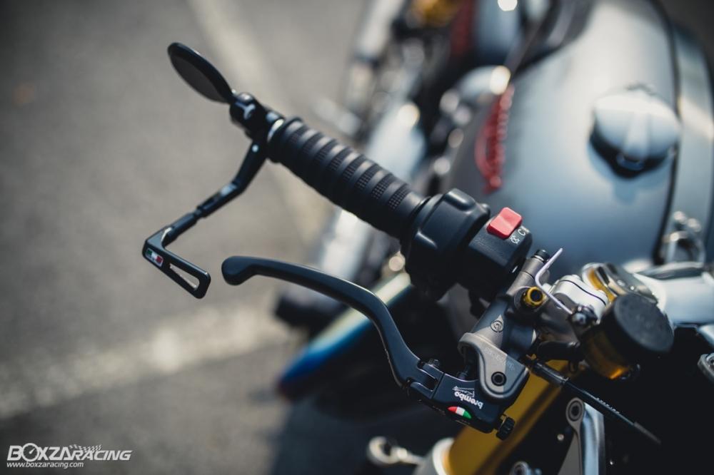 Triumph Thruxton R chan dung hoan hao tu Cafe Racer Legend - 6