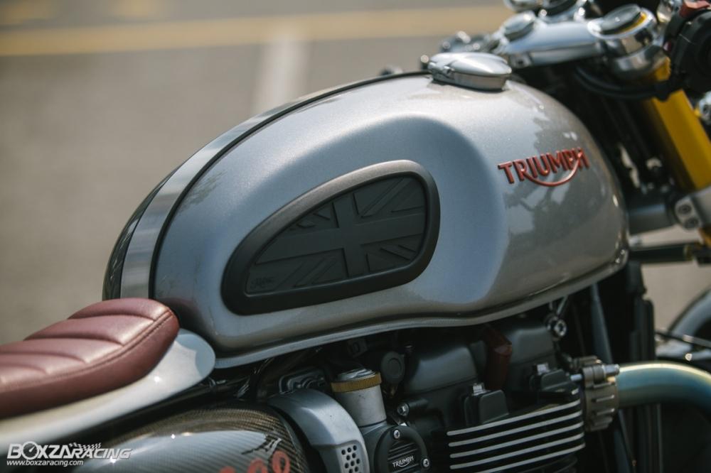 Triumph Thruxton R chan dung hoan hao tu Cafe Racer Legend - 10