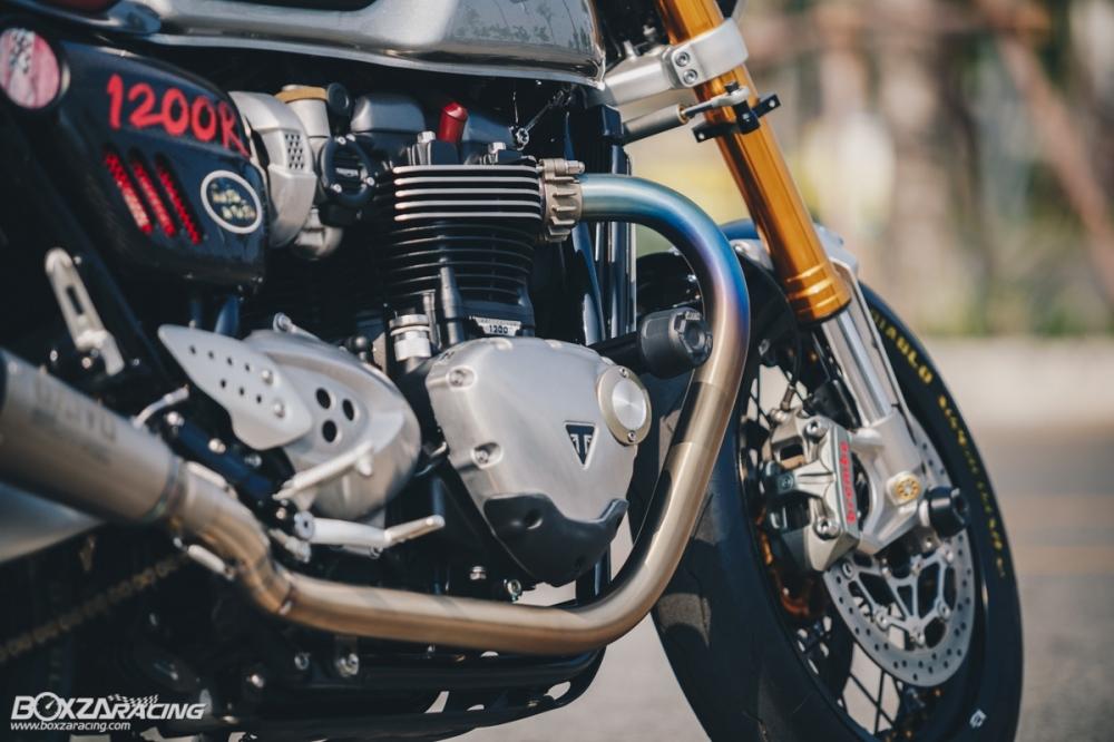 Triumph Thruxton R chan dung hoan hao tu Cafe Racer Legend - 22