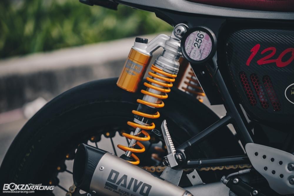 Triumph Thruxton R chan dung hoan hao tu Cafe Racer Legend - 24