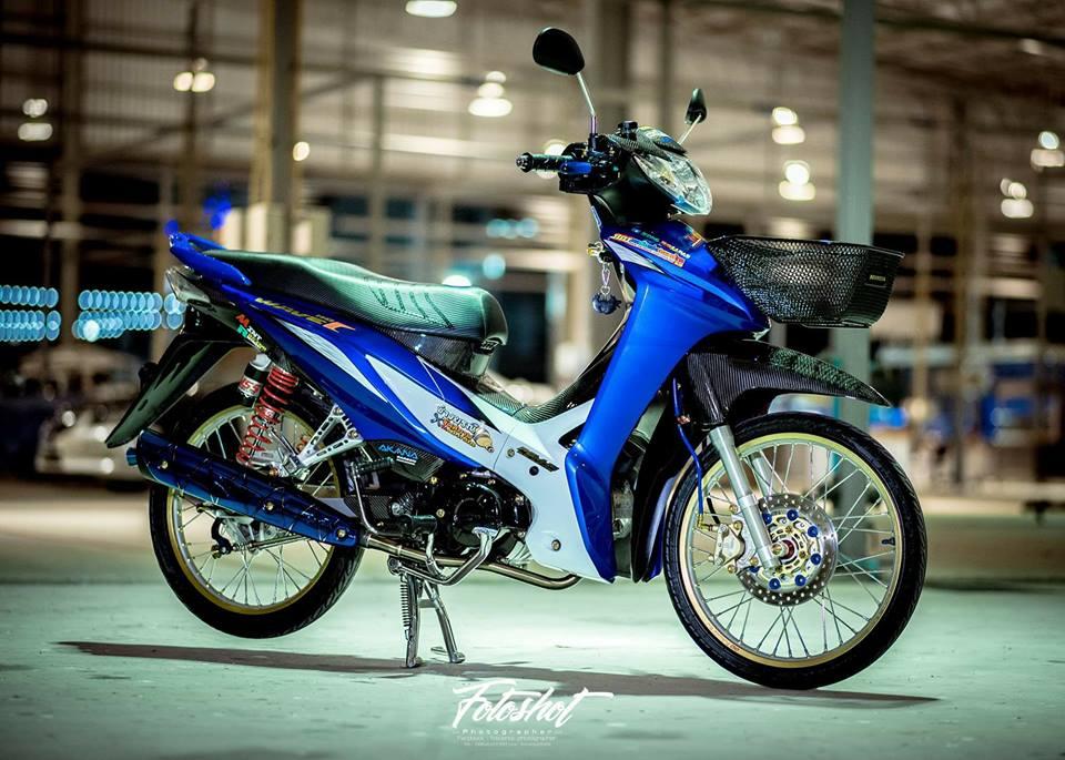 Wave 110 do bien the moi tao net dep ma mi cua biker Thailand - 3