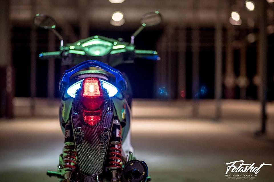 Wave 110 do bien the moi tao net dep ma mi cua biker Thailand - 10