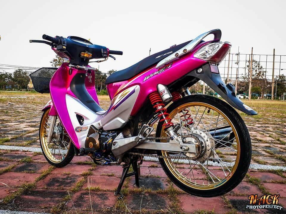 Wave 125i do mang ve dep tu tren troi roi xuong cua biker Thai - 8