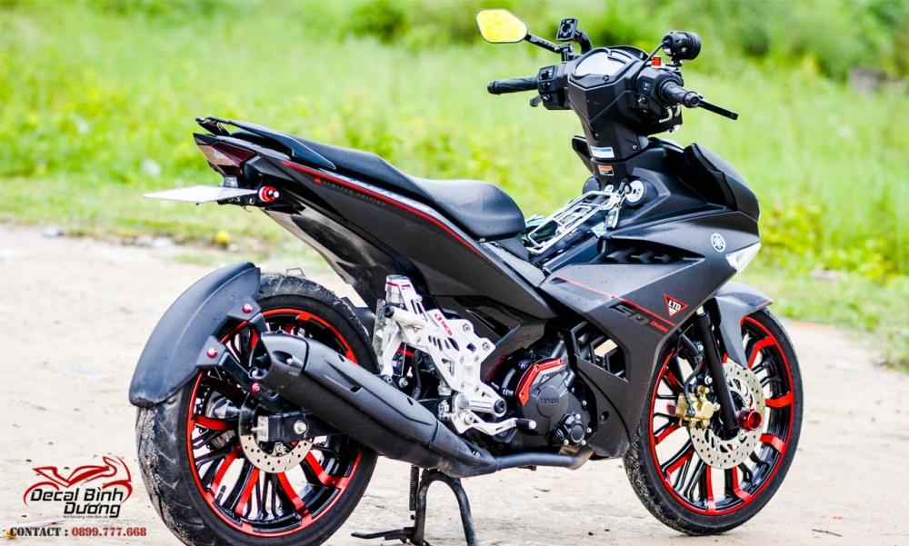Xe Exciter 150 Den Nham Do Dep An Than Trong Bo Canh Zin - 2