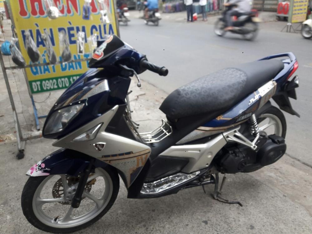 Yamaha Nouvo LX 135 mau xanh bac xe dep - 4