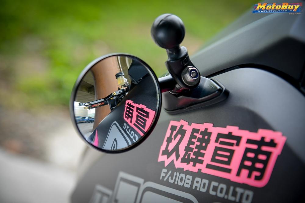 YAMAHA TMAX 530 ban nang cap mang ten Pink Panther - 4