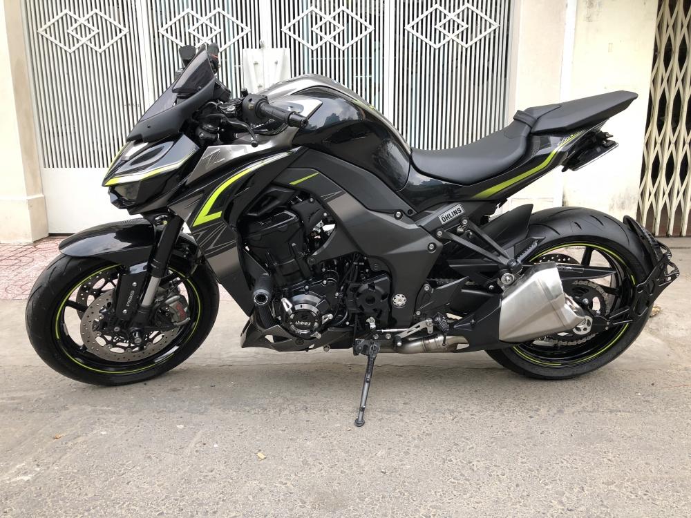 ___Can Ban kawasaki Z1000R ban dat biet ABS date 2017 chau au chia khoa hiss HQCN odo 900km - 9