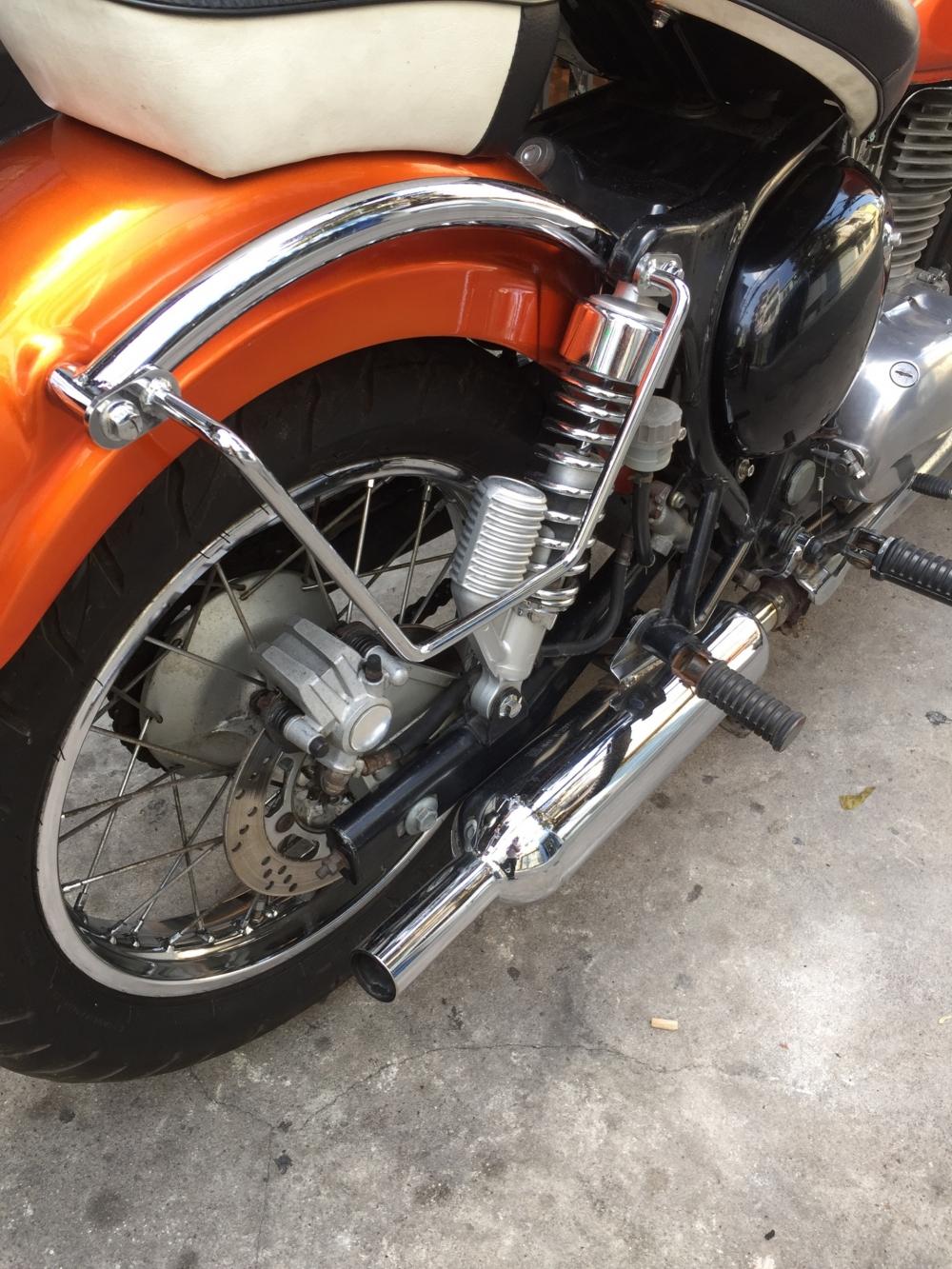 ban Kawasaki Estrella 250 xe keng gia dep - 7