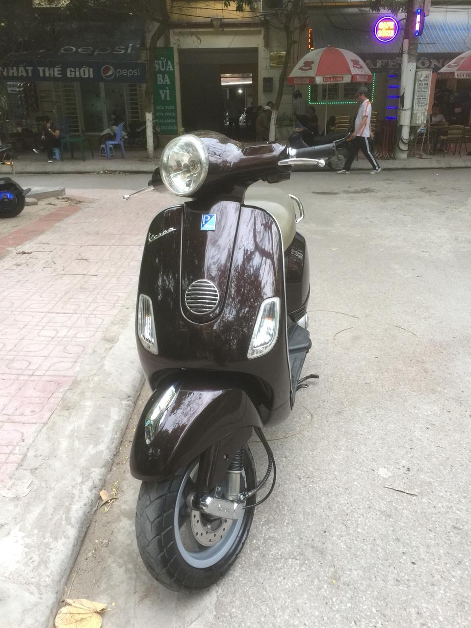 Ban Vespa Lx 125ie 2012 Nau tim chinh chu dung nguyen ban 27tr - 2