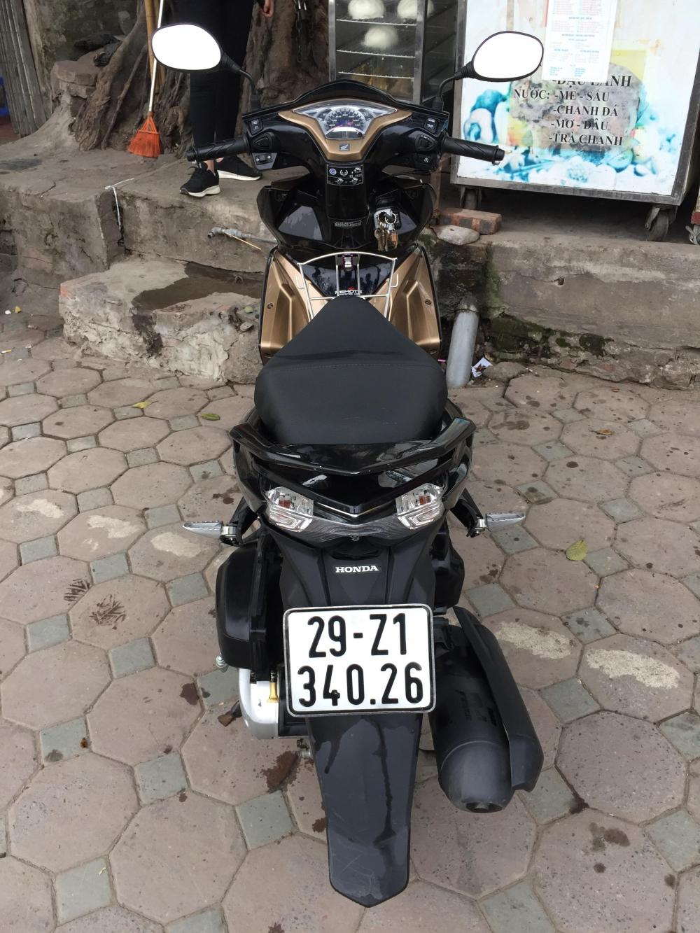 Ban xe Honda Air Blade 2015 bien Ha Noi - 6