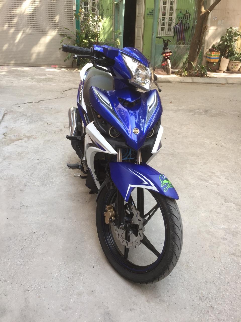Ban xe Yamaha Exciter 135 GP may nguyen ban cuc chat dang dung tot - 2