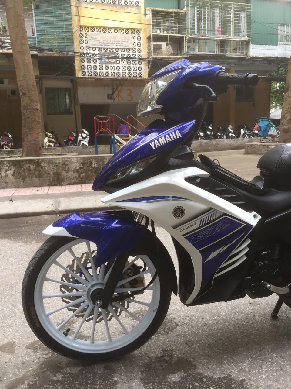 Ban xe Yamaha Exciter 135GP may chat nguyen ban 2015