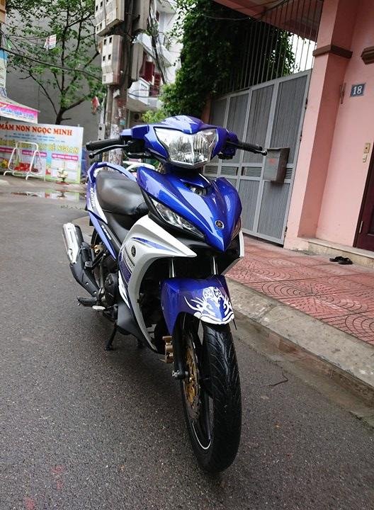 Ban Yamaha Exciter135 GP 2015 xanh trang 29Z chinh chu 25tr800 nguyen ban - 2