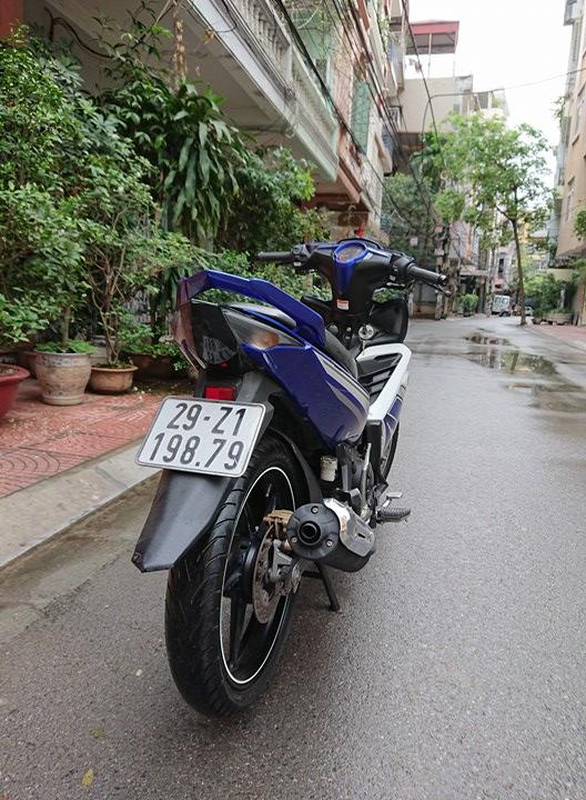 Ban Yamaha Exciter135 GP 2015 xanh trang 29Z chinh chu 25tr800 nguyen ban - 3